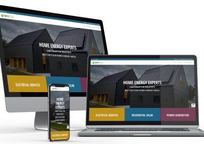 Residential Energy Web Design