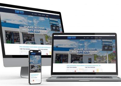 Mechanic Shop Web Design
