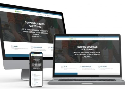 Business Energy Services Web Design