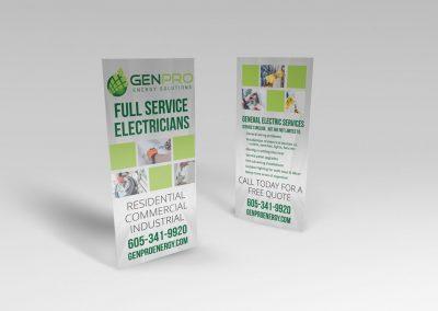 Electrician Services Brochure