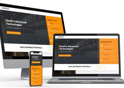 Lighting Technology Web Design