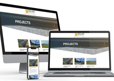 Solar Energy Web Design